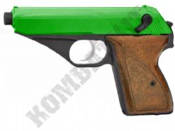 HG106 BB Gun Walther PPK Replica Airsoft Gas Pistol 2 Tone Colours